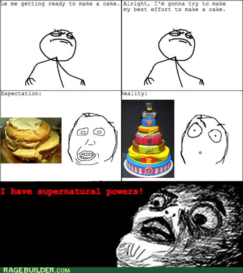 Actual Cake Win!