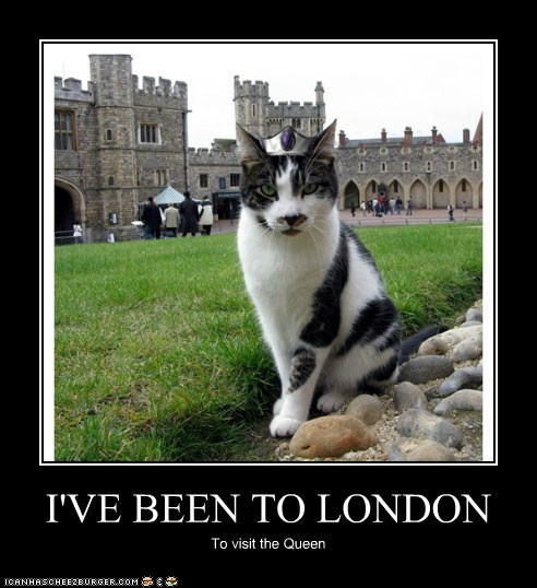 I'VE BEEN TO LONDON
