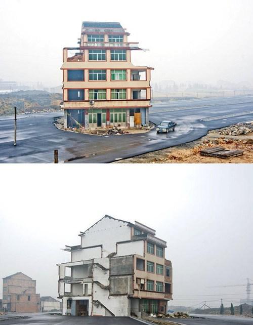 China,nail house,real estate
