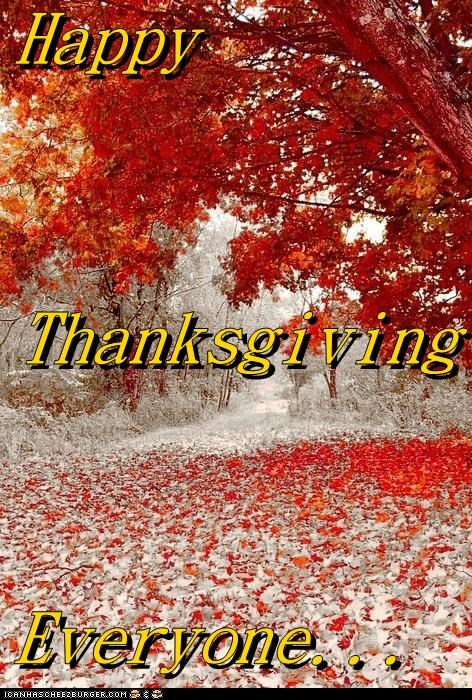 Happy Thanksgiving Everyone...