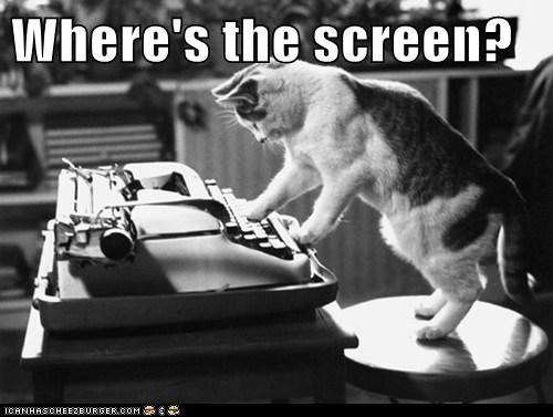 Where's the screen?