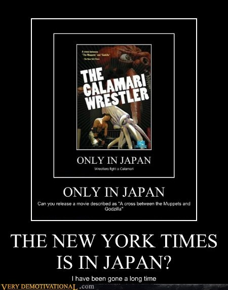 THE NEW YORK TIMES IS IN JAPAN?
