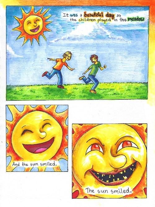 SOON,creepy,beautiful day,The Sun