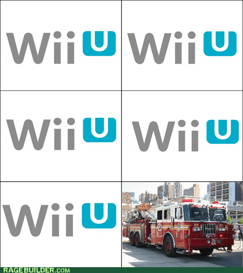 Wii U, Wii U, Wii U...