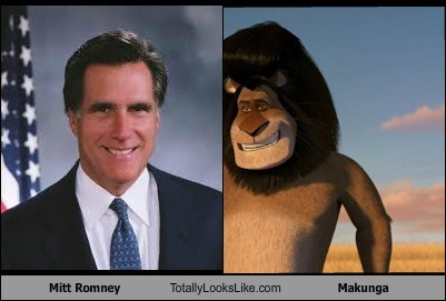 Mitt Romney Totally Looks Like Makunga