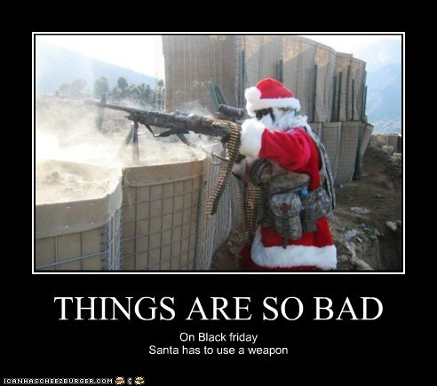 THINGS ARE SO BAD