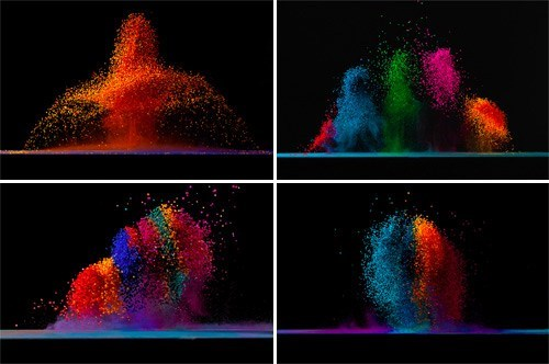 Artsy Fart of the Day: Dancing Colors