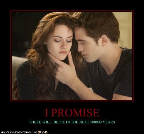 HE PROMISED