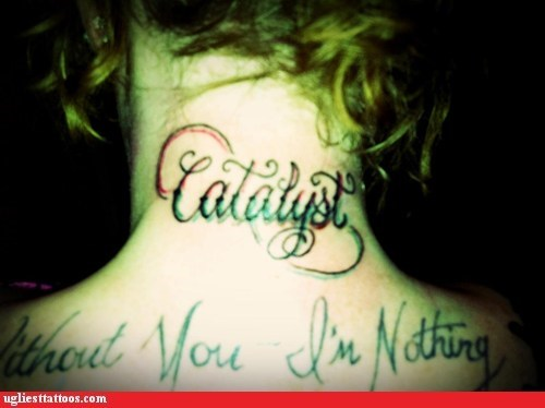 neck tattoos,catalyst