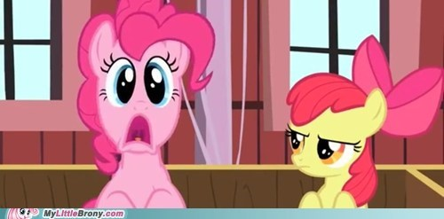 """What an idiot""- applebloom"
