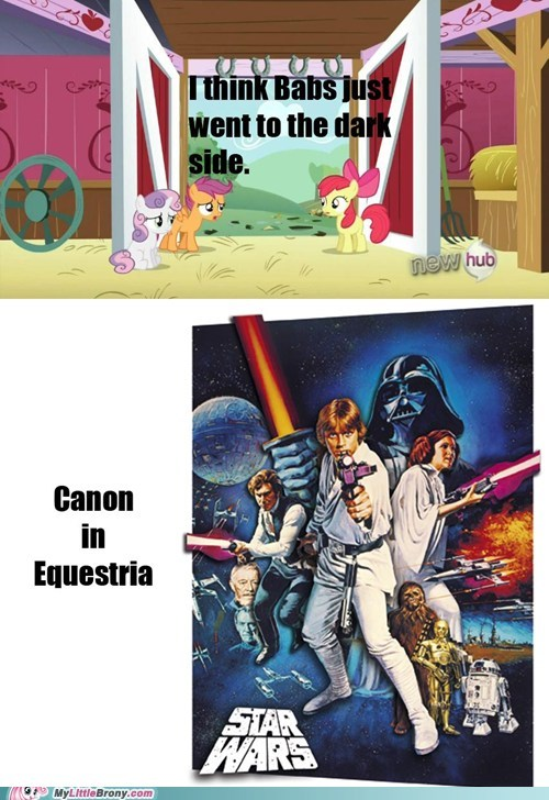 In a Ponyville far away . . .