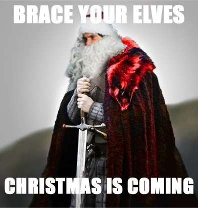 christmas,brace yourselves,santa,elves