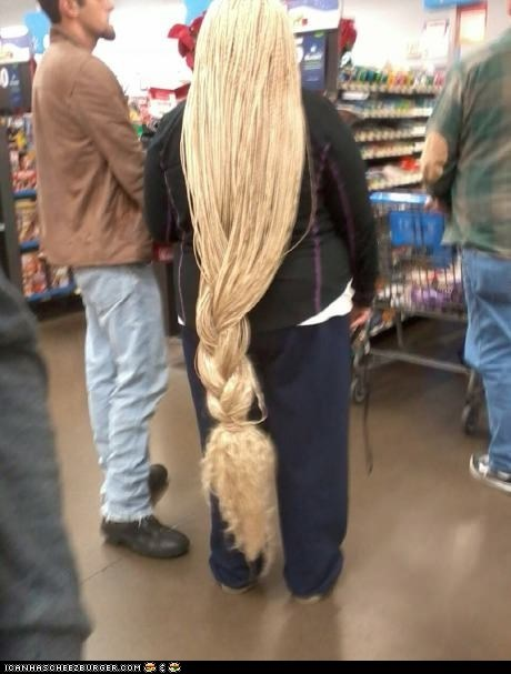 Rapunzel, is that you?