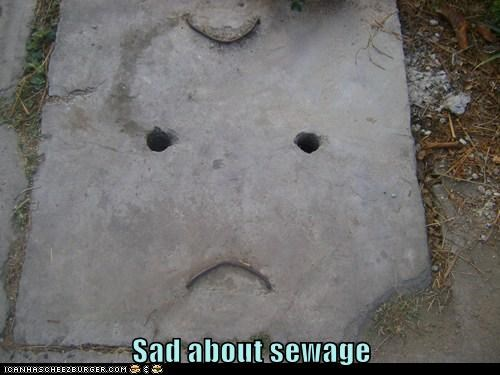 Sad about sewage