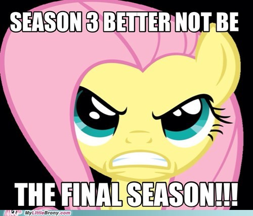 Continue it for brony sake