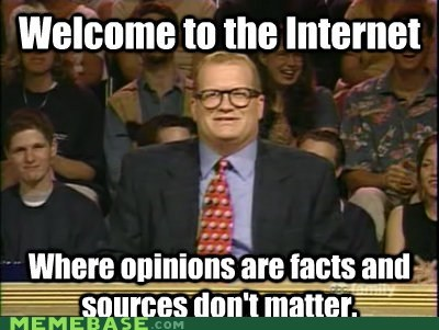 Opinions on the Internet