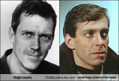 Hugh Laurie Totally Looks Like David Emge (Dawn of the Dead)