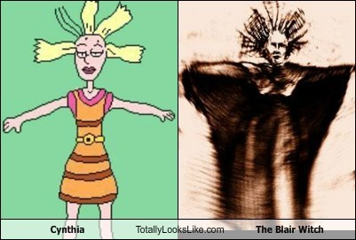 Cynthia from Rugrats Totally Looks Like The Blair Witch