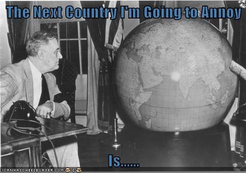 Take a Week Off, Roosevelt