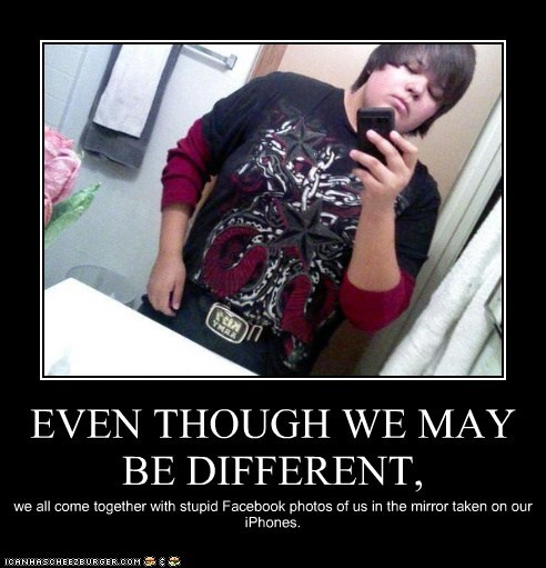 EVEN THOUGH WE MAY BE DIFFERENT,