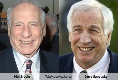 Mel Brooks Totally Looks Like Jerry Sandusky
