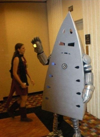 Cosplayer of the Day: Literal Iron Man
