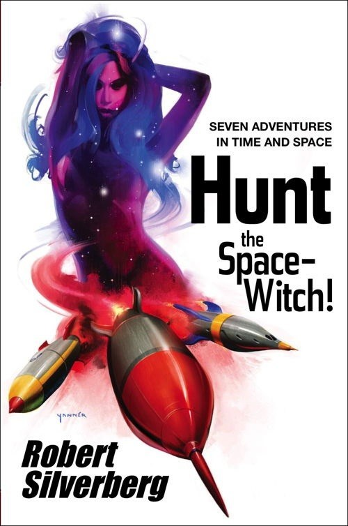 WTF Sci-Fi Book Covers: Hunt the Space Witch