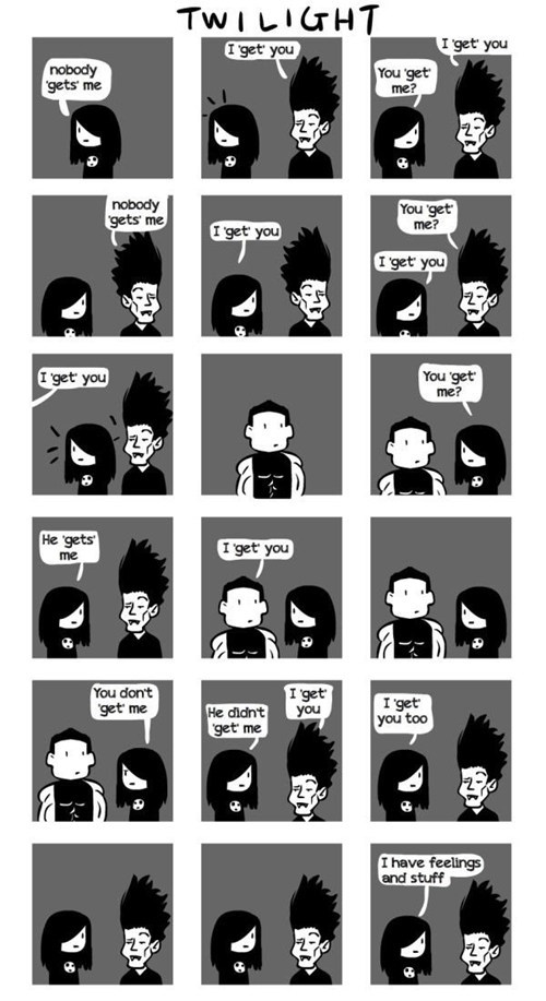 All of Twilight in a Single Comic