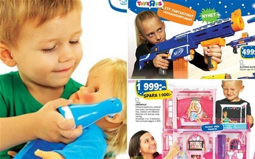 Meanwhile in Sweden of the Day: Gender-swapped Children's Toy Catalogue