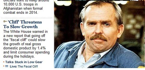 fiscal cliff,growth,cliff clavin,placement,threat,economy