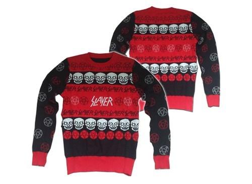 metal,christmas,sweater,slayer