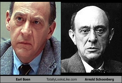 Earl Boen Totally Looks Like Arnold Schoenberg