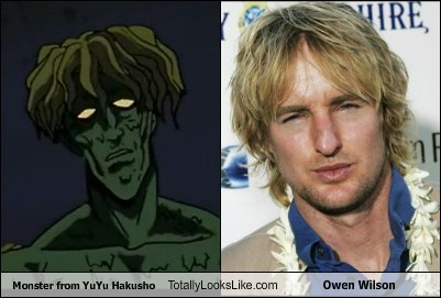 Monster from YuYu Hakusho Totally Looks Like Owen Wilson