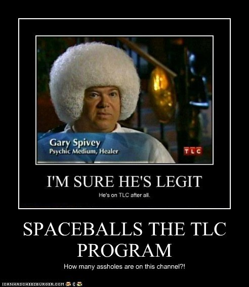 SPACEBALLS THE TLC PROGRAM