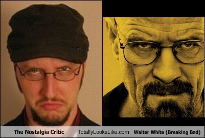 The Nostalgia Critic Totally Looks Like Walter White (Breaking Bad)