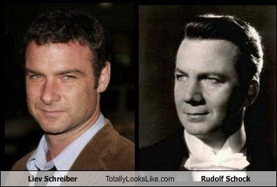 Liev Schreiber Totally Looks Like Rudolf Schock