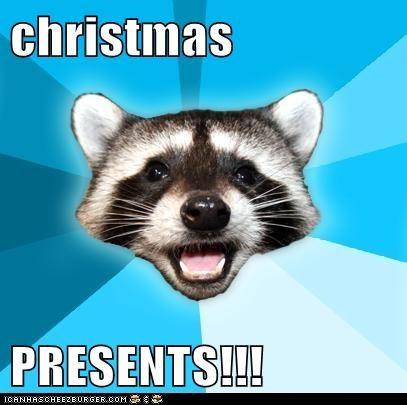 christmas  PRESENTS!!!