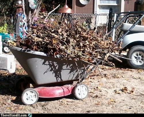 "The Wheelmower, Or What I Prefer to Call ""The Lawnbarrow"""