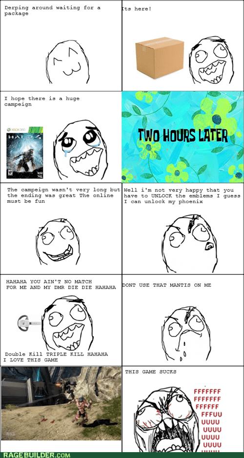 Halo 4 Rage