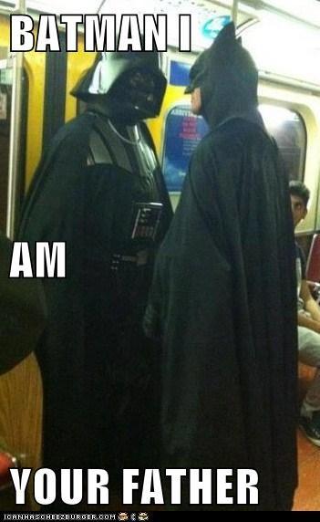 BATMAN I  AM  YOUR FATHER