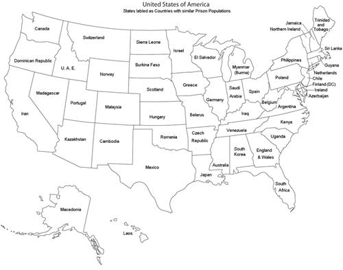 united states,population,countries,prison,politics