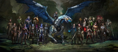 Mass Effect Characters in Dragon Age