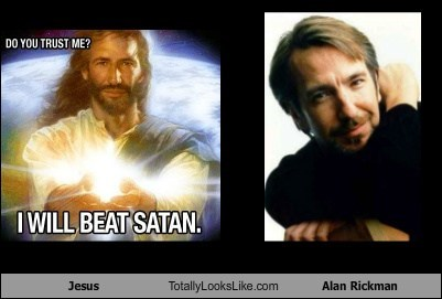 Jesus Totally Looks Like Alan Rickman