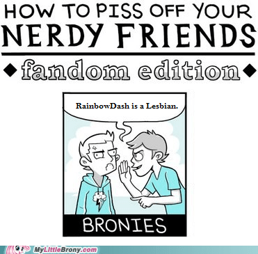 This is how you REALLY piss off a Bronie.