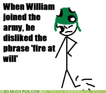 'Fire at Will!!!'
