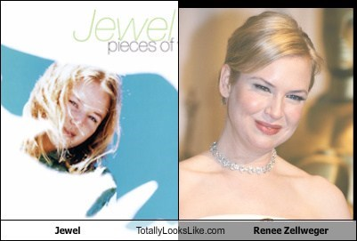 Jewel Totally Looks Like Renee Zellweger