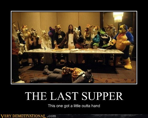 last supper,wtf,furries