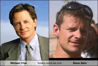 Michael J Fox Totally Looks Like Steve Zahn