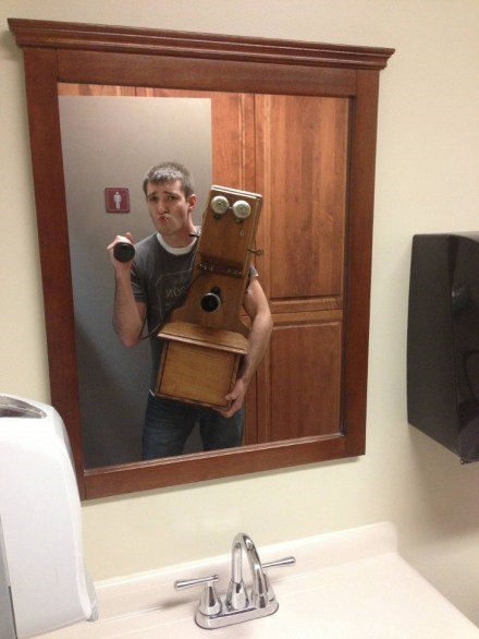 mirror,camera,self poortraits,old phone