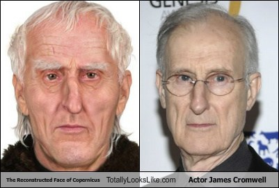 The Reconstructed Face of Copernicus Totally Looks Like Actor James Cromwell